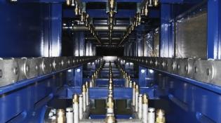 Komponenten zu Aluminium Stranggussanlage